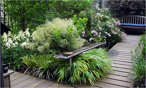 outdoor wicker chairs nz desk chair ikea australia 55 small urban garden design ideas and pictures - shelterness
