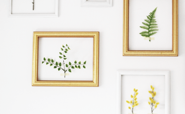 Spring Feel In Your Home 8 Diy Wall Décor Ideas Shelterness