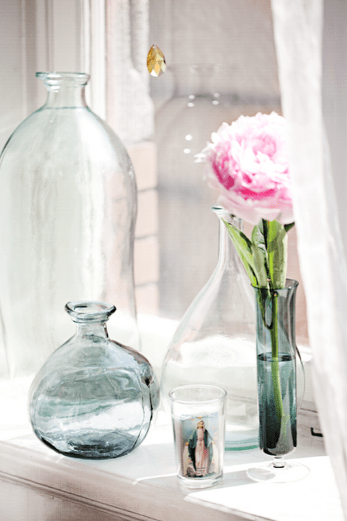35 Ideas To Use Vintage Bottles In Interior Decorating