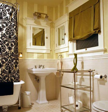 Cool Wallpapers For Fall 30 Bathroom Wallpaper Ideas Shelterness