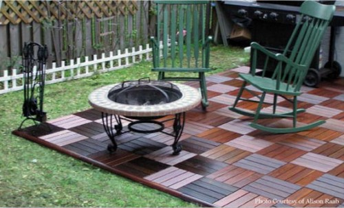 wood patio ideas wood deck rail wood decking on a patio