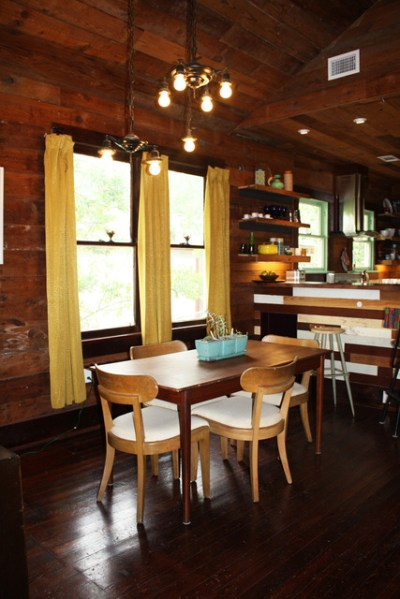 Wood Wrapped 1920s Bungalow's Interior Design - Shelterness