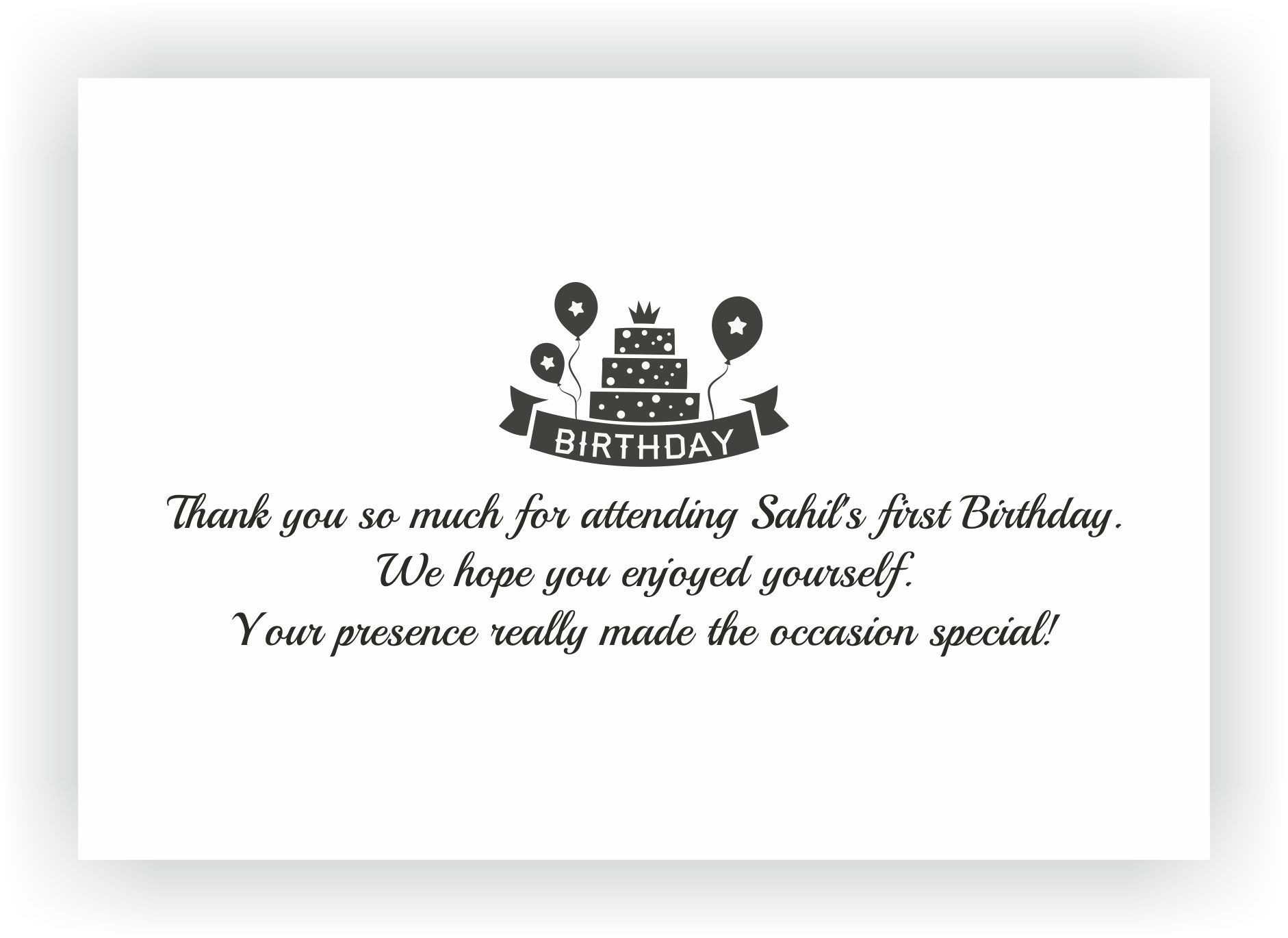 First Birthday Return Gifts | Customised Gifts