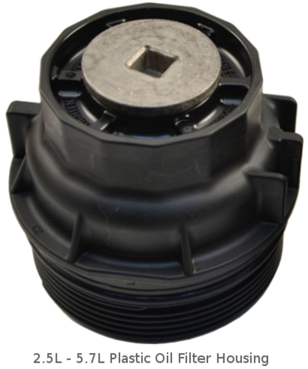medium resolution of 2 5l 5 7l toyota plastic oil filter housing