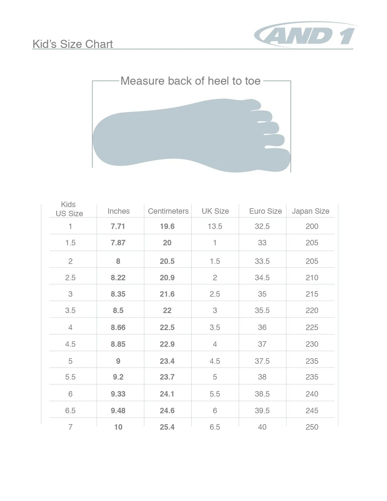 Gucci Children's Shoe Size Chart : gucci, children's, chart, Chart, Gallery