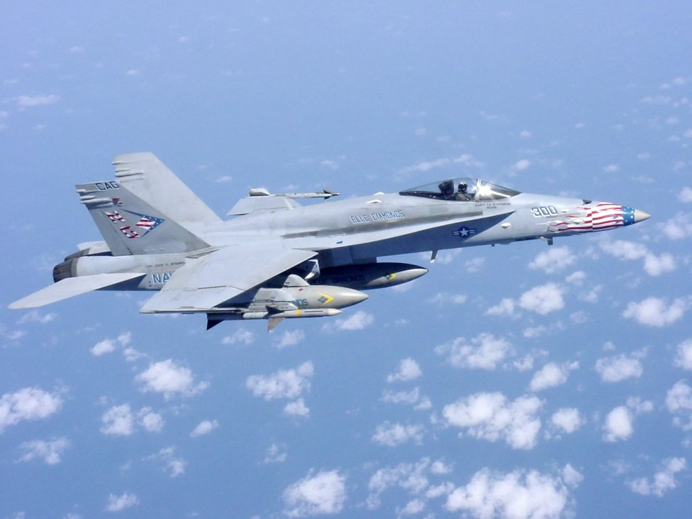 medium resolution of the mcdonnell douglas now boeing f a 18 hornet is a twin engine supersonic all weather carrier capable multirole fighter jet designed to dogfight and
