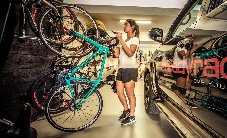 garage bike rack storage steadyrack us