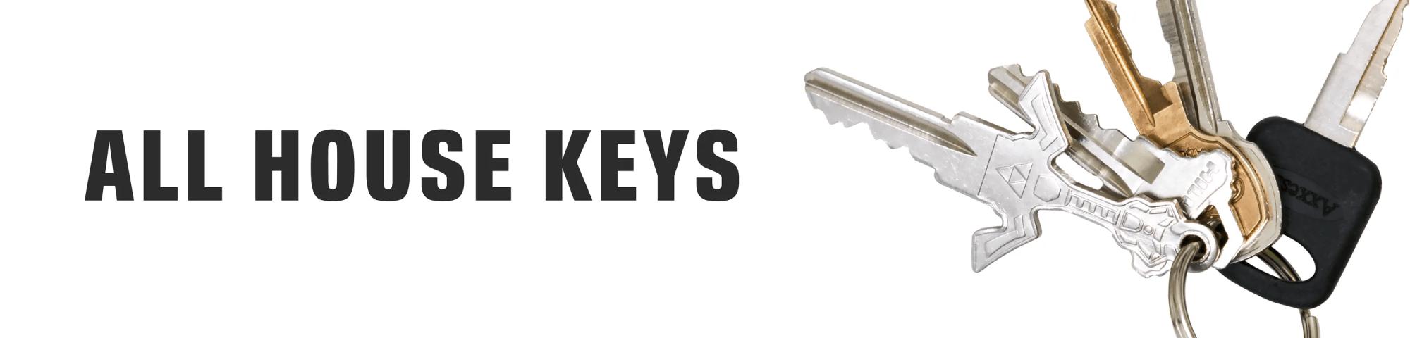 hight resolution of house keys