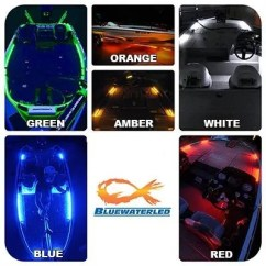 Car Led Light Wiring Diagram Boat Trailer Lights Blue Water T H Marine Supplies Individual