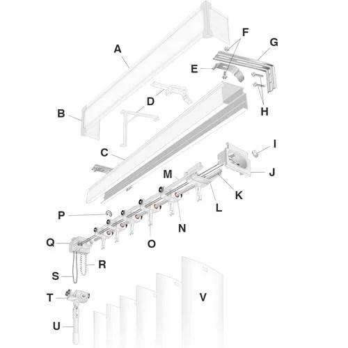 Vertical Blind Diagram
