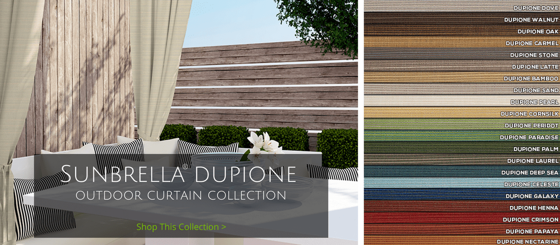 sunbrella outdoor curtain collections