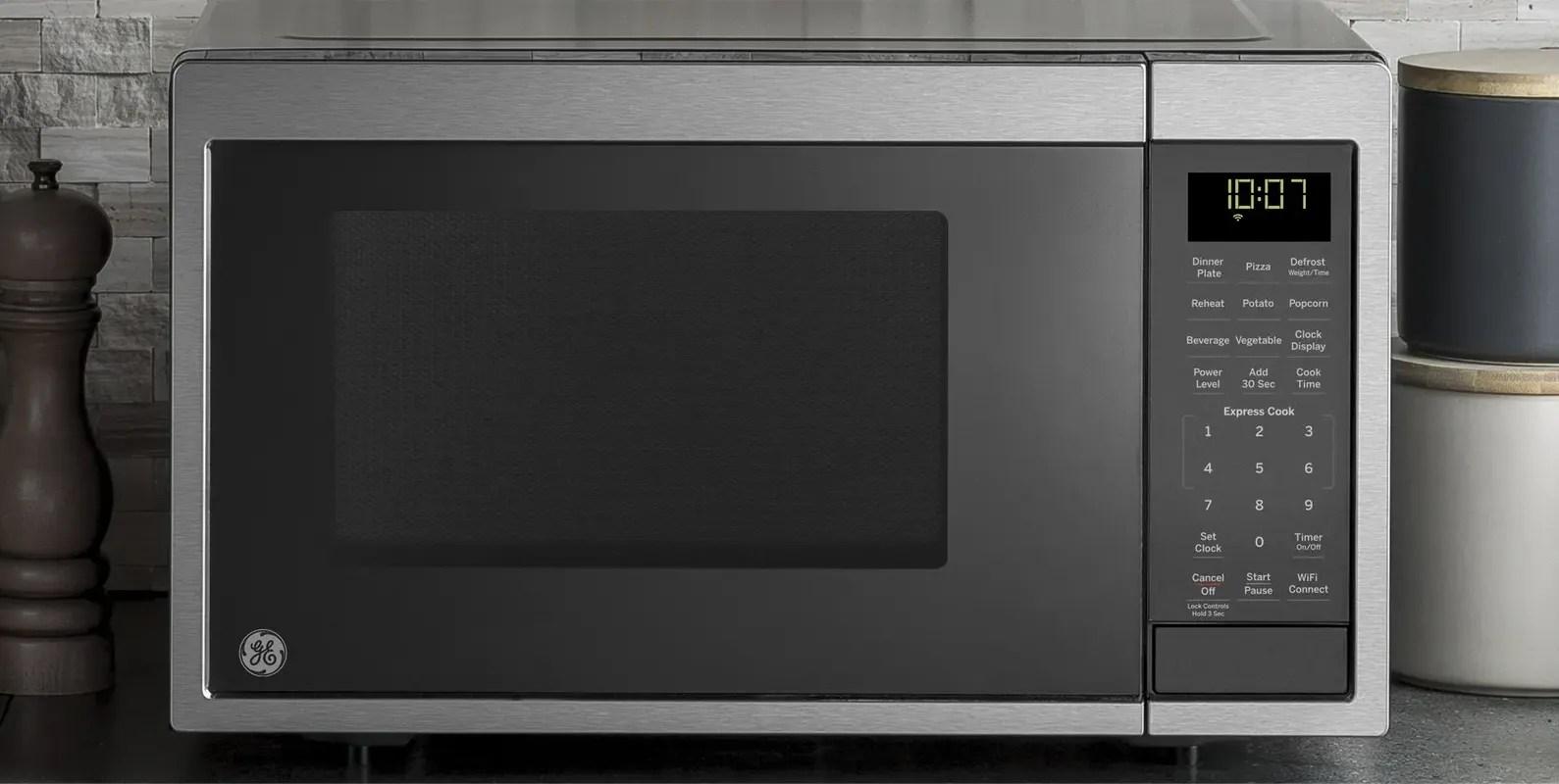 ge smart microwave ovens ge appliances