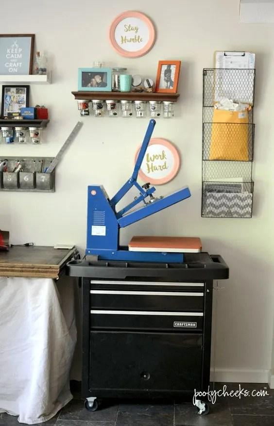 7 Innovative Ideas To Inspire Craft Room Organization