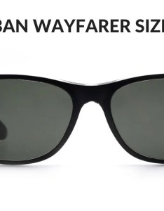Ray ban is one of the only sunglasses companies that actually makes styles in different sizes there  scale size numbers but it   also important definitive guide to buying wayfarers rh shadesdaddy