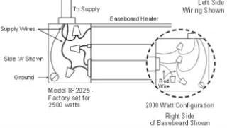 Fahrenheit Baseboard Heater 110 Volt Wiring Diagram