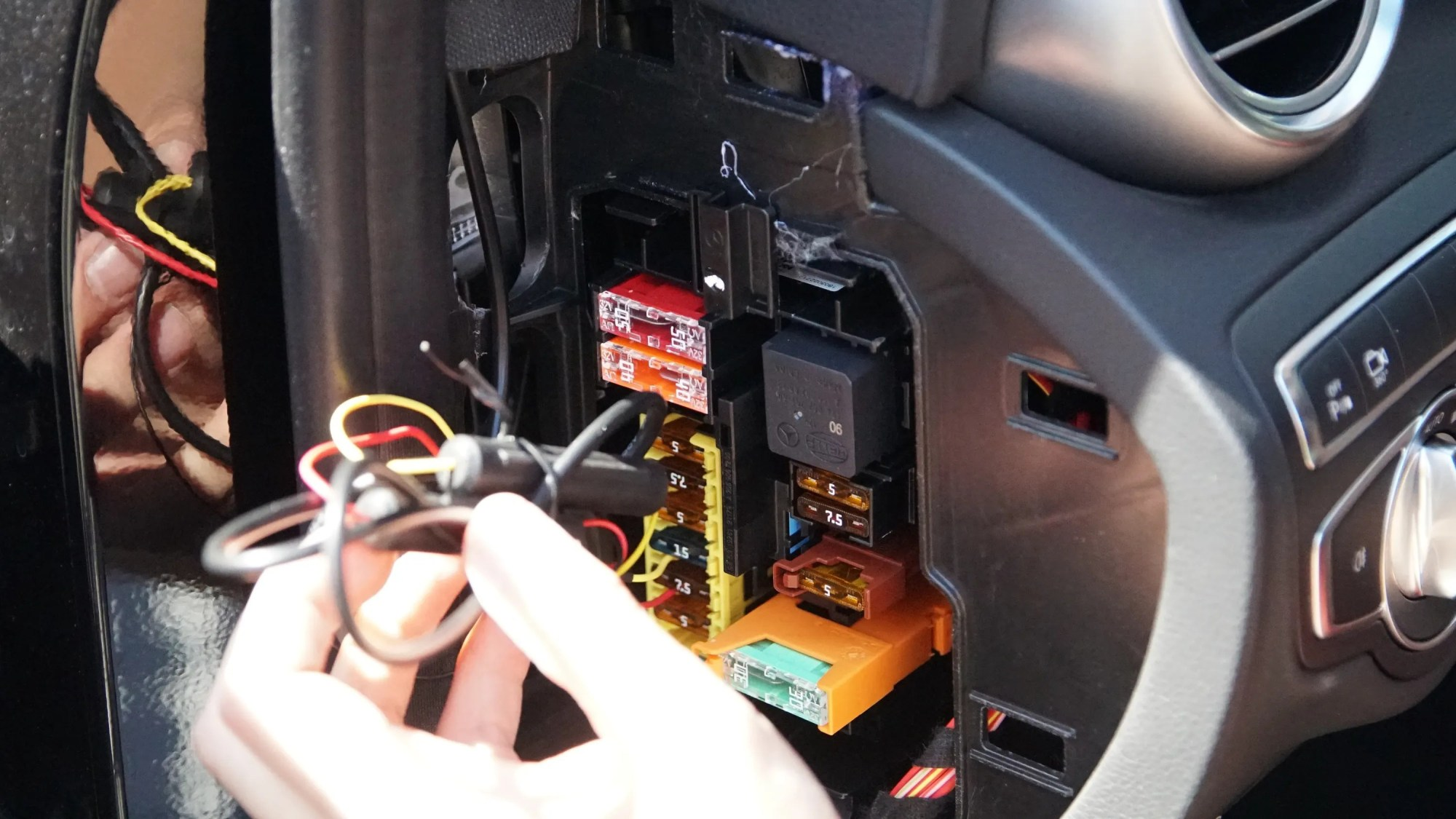 hight resolution of installing a dash cam with a hardwire kit dash cam how to car wire into fuse box