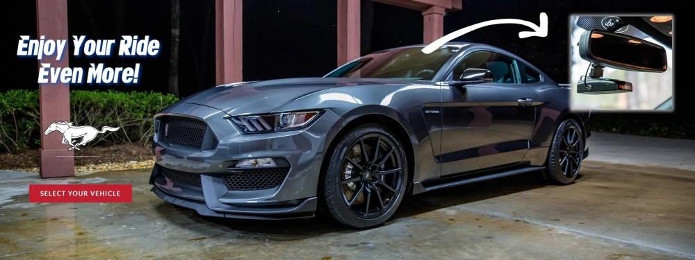 medium resolution of custom fit billet aluminum rear view mirror mounts