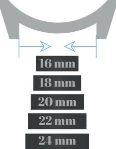 Watch lug width measurement also fitting  band strap barton rh bartonwatchbands