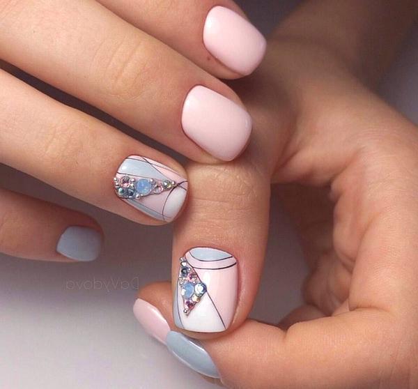 Manicura uñas cortas 2019