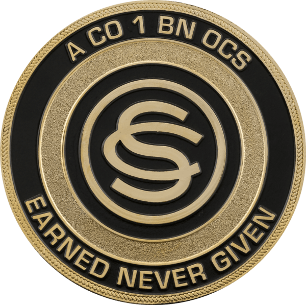 Custom Navy Challenge Coins Signature - Year of Clean Water