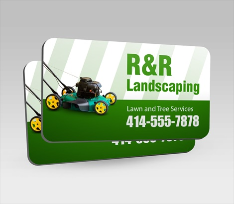 landscaping truck magnets lawn