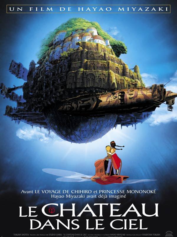 Le Chateau Dans Le Ciel Torrent : chateau, torrent, Château, Manga, Animé, Drama