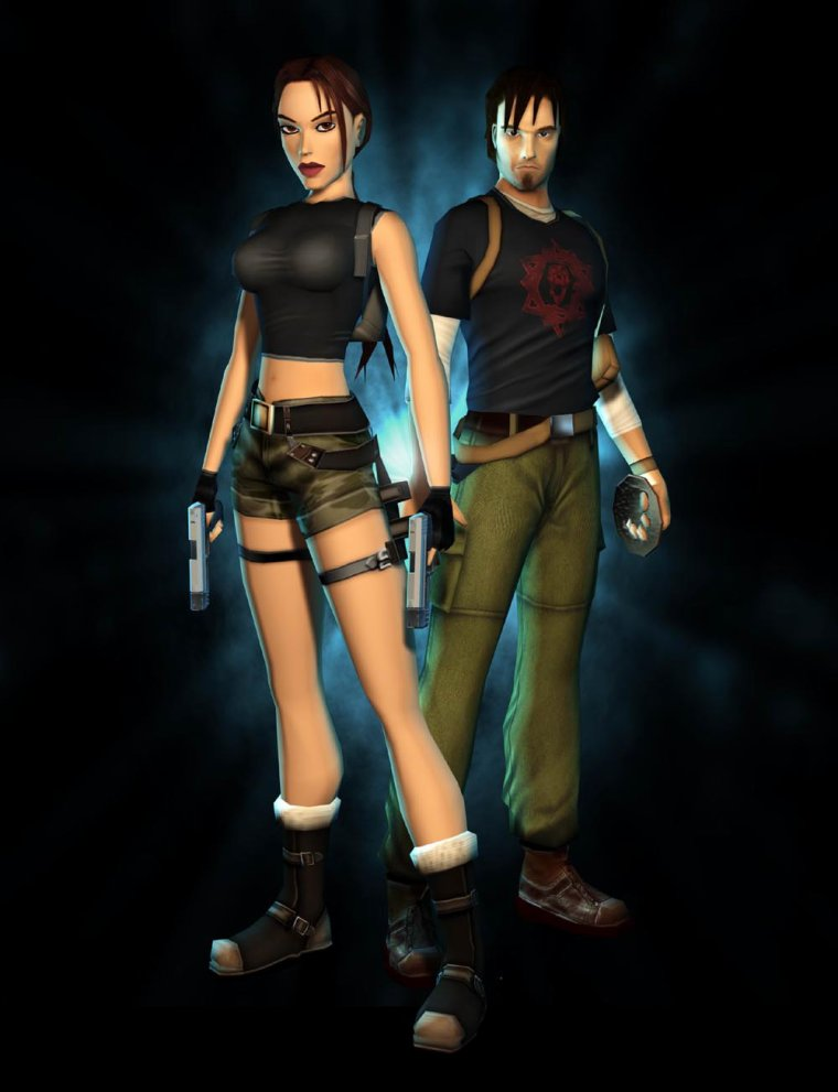 Tomb Raider L'ange Des Ténèbres : raider, l'ange, ténèbres, Raider:, L'ange, Ténébres..., Gaming