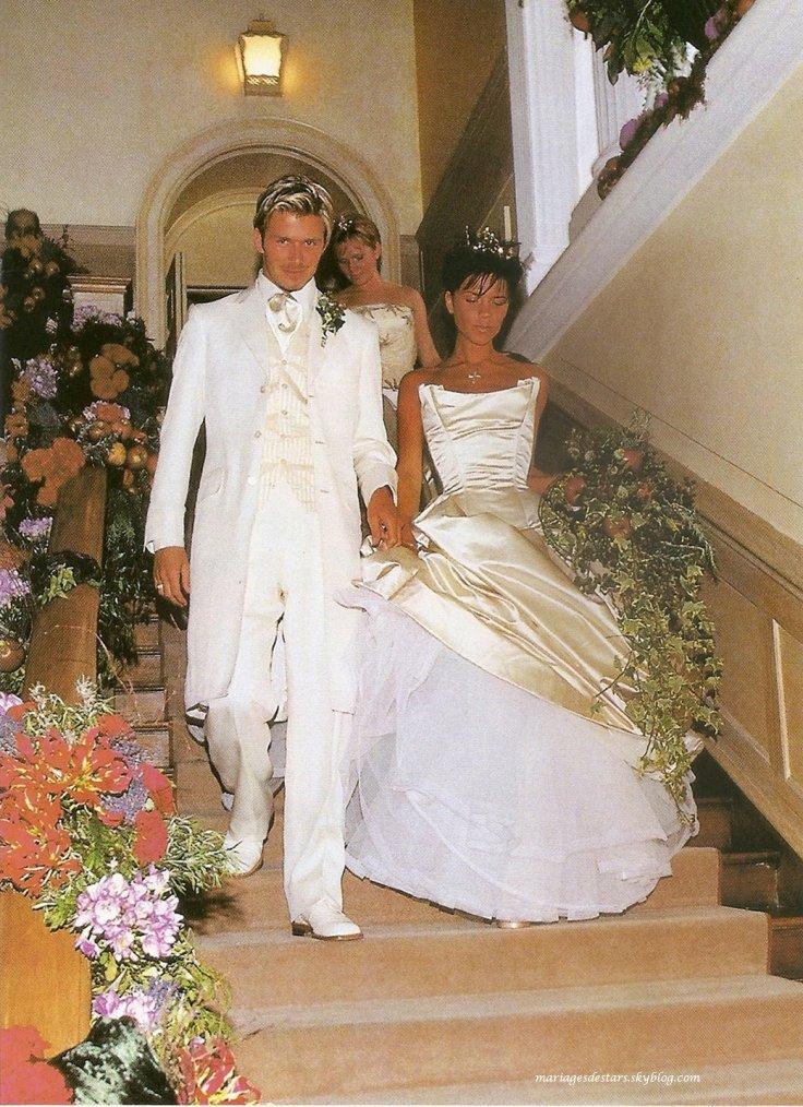 Victoria Adams  David Beckham  Mariages de stars