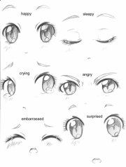 apprendre dessiner des yeux