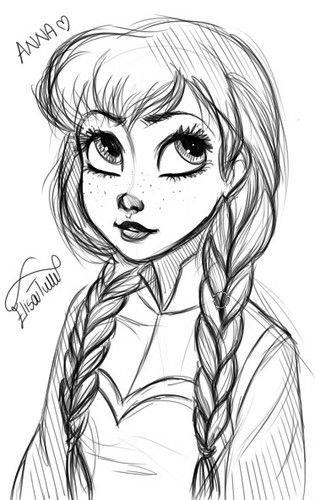 Anna, Princesse d'Arendelle.