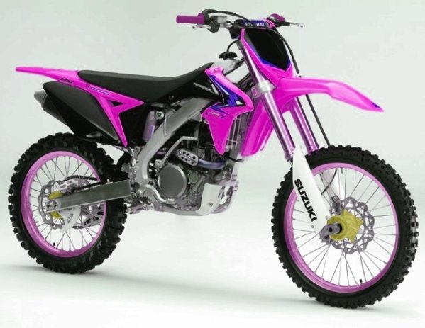 450 Rmz Rose Blog De Deco Perso Moto