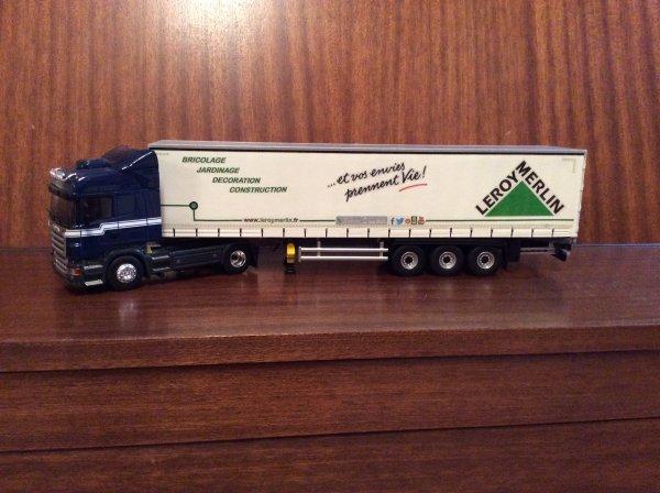 Camion Leroy Merlin 1 43 Eligor Diorama Camions 1 43 Eligor