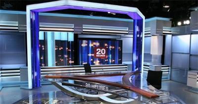 Le Nouveau Décor Du 20h De France 2  Les Presentateurs