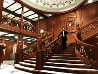 Le grand escalier  Titanic