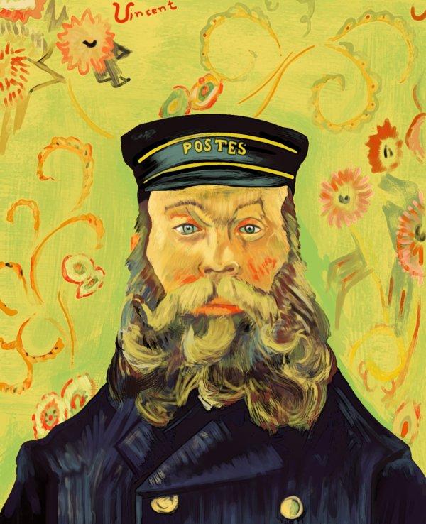 2 portraits du facteur Roulin par Vincent (1888) - Miscellanées & Petits bonheurs du jour . hic e...