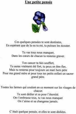 Texte Pour Son Grand Pere Decede : texte, grand, decede, Poéme, Pépére, Caroline