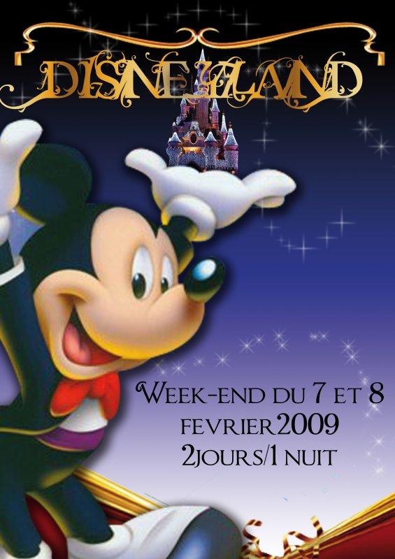 affiche Disneyland  Blog de alaimo2creation