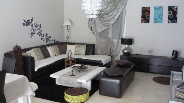 salon marocain oriental moderne