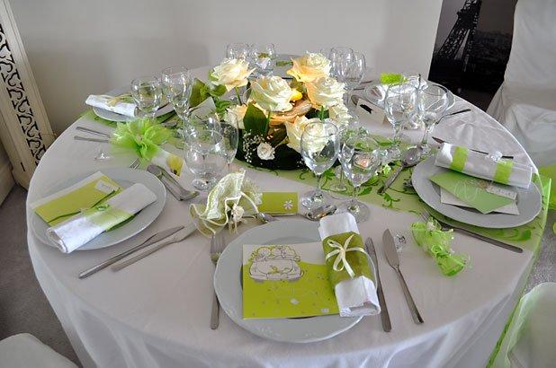 Dcoration De Table Mariage Anniversaire Dner En