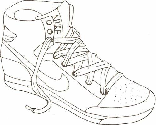 Basket Nike Dessin