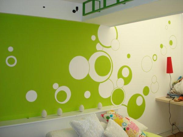 Chambre Vert Pomme Et Orange - Décoration de maison idées de design ...