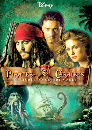 Pirates Des Caraibes Le Coffre Maudit : pirates, caraibes, coffre, maudit, Pirates, Caraïbes, Secret, Coffre, Maudit, Univers, Rempli, Films, Séries, Que...
