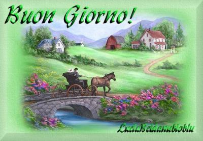 image bonjour en italien