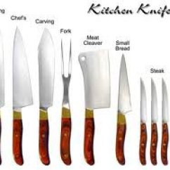 Good Kitchen Knives Chair Pads The Different Kinds Of Included In A Knife Set