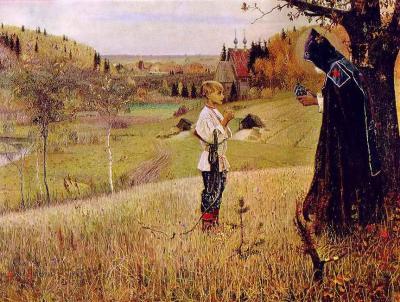 le monde de la peinture russe dans la