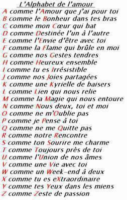 Poeme Avec Les Lettres De L'alphabet : poeme, lettres, l'alphabet, L'alphabet, L'amour, Ak47-kalachnikov