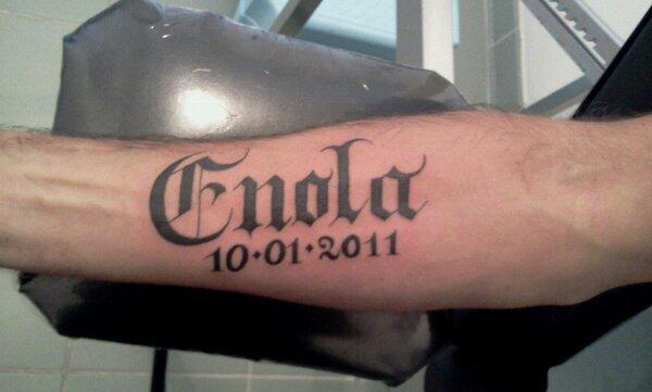 Tatouage Prenom Gothique
