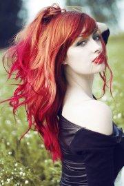 des ides de dip dye hair pour