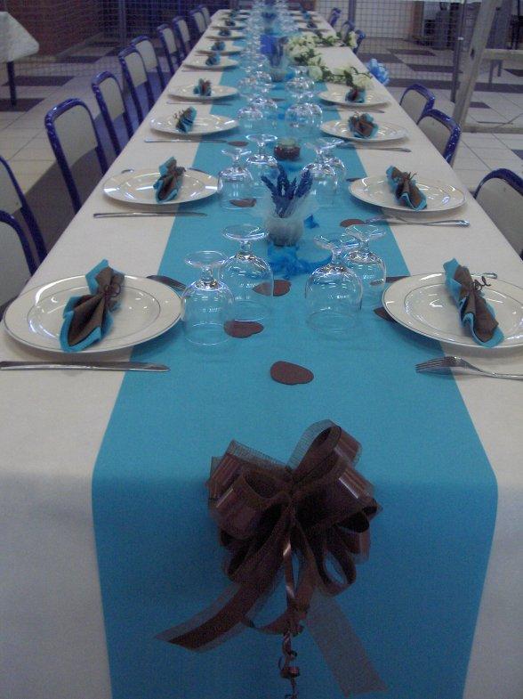 modele decoration table pour mariage