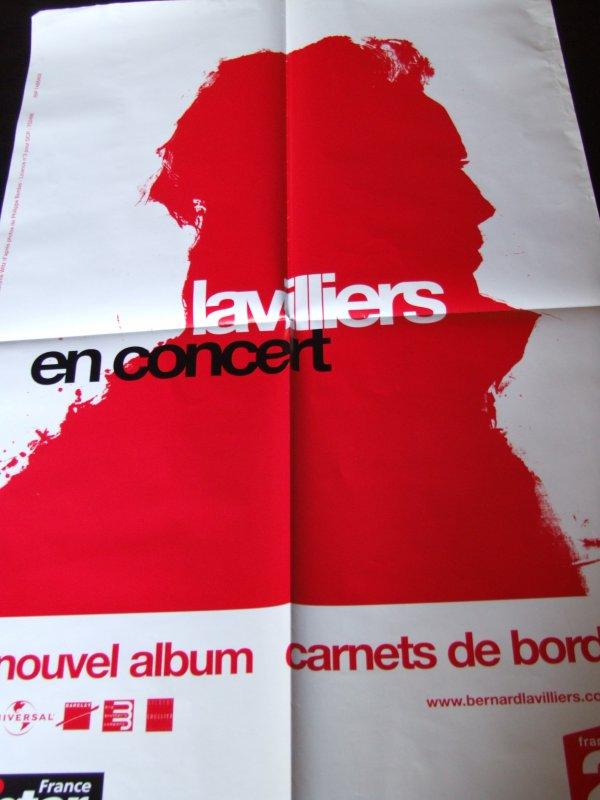 Bernard Lavilliers Carnets De Bord : bernard, lavilliers, carnets, AFFICHE, CARNET, COLLECTION, BERNARD, LAVILLIERS
